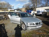 BMW 3 Series Estate, good runner, low mileage for age, 4 good tyres and new discs all round