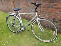 Men's Raleigh pioneer hybrid bike