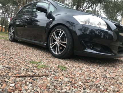 2009 TOYOTA COROLLA LEVIN ZR (AFTR MARKT AD ONS EXHAUST N MRE(LONG REG