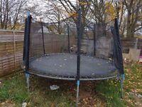 12ft Trampoline & Enclosure