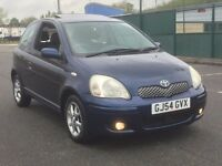 2005 TOYOTA YARIS 1.3 VVT-I * 3 DR * 1 F/KEEPER * LONG MOT * SUNROOF * GOOD RUNNER * PX * DELIVERY