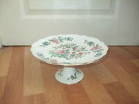Aynsley Pembroke cake stand with central support