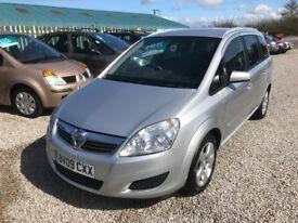 Vauxhall Zafira 1.6 *7 SEATER-12 MOT+3 MONTH WARRANTY*