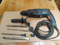 Bosch 240 volt rotary hammer / drill.