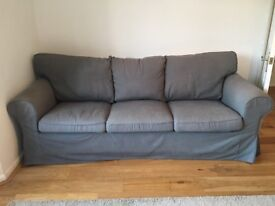 3 Seater IKEA Sofa With Spare Covers