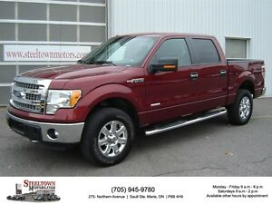 2014 Ford F-150 XTR 4x4 Crew |ECO-Boost|Polished 18's|Sync