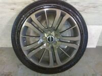 ALLOYS X 4 OF 20 INCH GENUINE RANGEROVER OR DISCOVERY FULLY POWDERCOATED IN STUNNING ANTHRACITE NICE