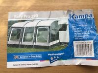 Caravan awning Kampa Rally Pro 390
