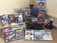Sony Playstation 3 / PS3 / 18 Games, extended hard drive and Move