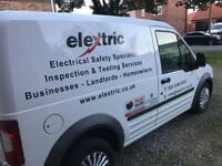 Approved Contractor Registered Electrician LANDLORD REPORT - EICR CERTIFICATE - INSPECTION & TESTING