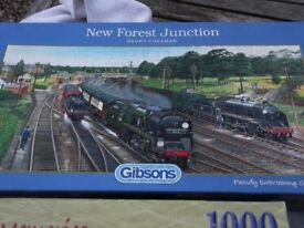 6 JIGSAW PUZZLES # BOXED # COMPLETE # JOB LOT # BARGAIN