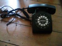 Vintage look house phone