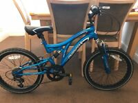"HALF PRICE New Muddyfox Envy 20"" dual suspension mountain bike"