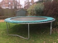 Large Trampoline - good condition