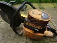 parther/ petrol concrete disc cutter/saw £85