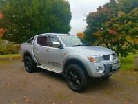 MITSUBISHI L200 2.5TD WALKINSHAW PERFORMANCE EDITION TOP OF THE RANGE, MUST SEE!