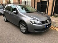 EXCLUSIVE DEAL - 2010 VW GOLF 1.6TDI, SEMI-AUTO, 5 DOOR, GUN METAL GREY, FULL SERVICE HISTORY