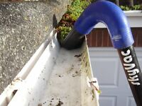 high reach gutter cleaning and block drains