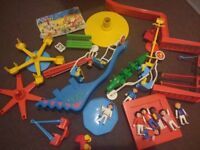 Playmobil 2 park sets and 9 figures