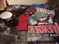 Marvel/Spider-Man bedding and bedroom bits