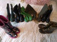 Various sizes of kids wellies 13 - 3.