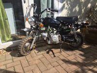 Lifan 70 monkey bike