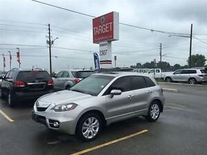 2010 Acura RDX Tech Pkg, Low kms, Loaded; Leather, Roof, Navi, B