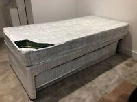3' Single Divan plus integral Guest Bed