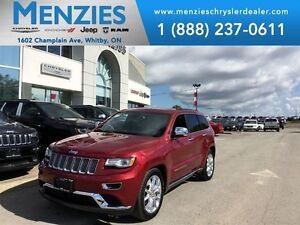 2015 Jeep Grand Cherokee Summit, Hemi, Navi, Bluetooth, ONE OWNE
