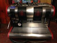 La San Marco Espresso Machine, sold as seen, fixable or good for parts - offers welcome