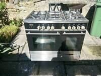Kenwood Five burner Gas Hob Electric oven