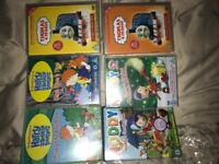 10 children's DVDs