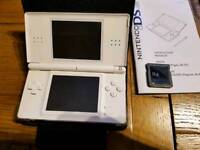 Nintendo D'S lite with 40 games
