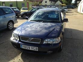 SWAINSTHORPE MOTOR CO VOLVO V40 1.6 ESTATE BLUE MOT 17TH APRIL 2017