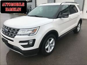 2016 Ford Explorer XLT cuir mags 7 places bas kilo