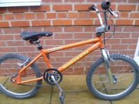 Mongoose Motivator BMX - Orange - 20 Inch Wheels