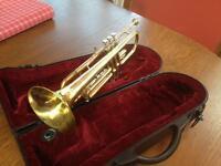 Brass Bb Trumpet