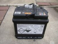 Halfords car battery 360cca 41 ah HB063