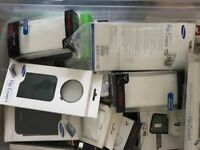 Various Phone Cases and accessories, x box and playstion games, books etc