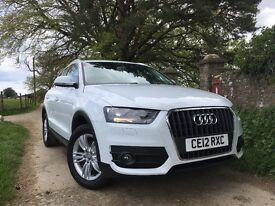 Audi Q3, low mileage. Just serviced and Mot'd. Great condition