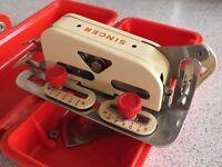 Vintage Singer Sewing Machine Buttonholer