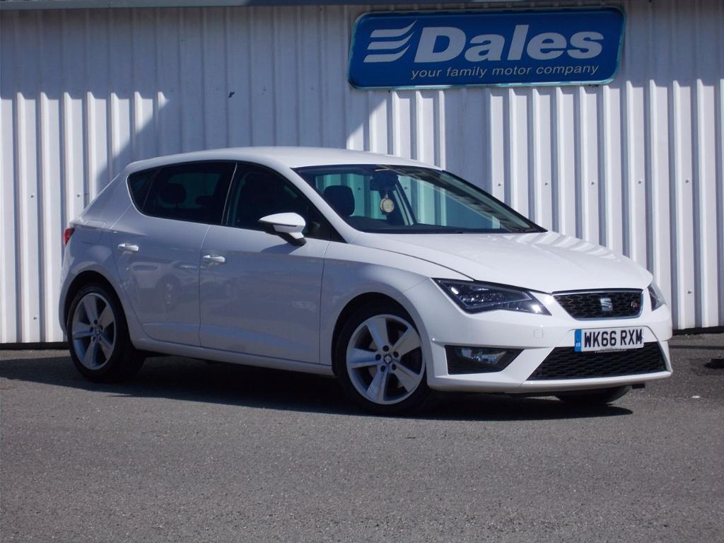 seat leon 2 0 tdi 184 fr 5dr technology pack white. Black Bedroom Furniture Sets. Home Design Ideas