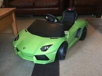 Rastar baby Lamborghini Aventador ride-on car