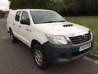 2013 Toyota Hilux HL2 144 2.5 D-4D 4WD Double Cab Pickup 4 doors NO VAT