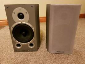 Wharfedale Diamond 9.1 Stereo Bookshelf Speakers - Pair - In Silver