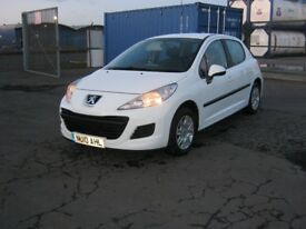 """2010 Peugeot 207 CHEAP £30 Year Road Tax 1.4hdi Fully Serviced and Maintained """"ONLY £2250"""" bargain"""