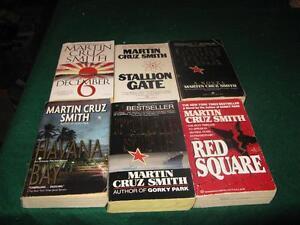 Martin Cruz Smith books $5 for the lot