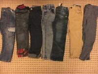 Bundle Of Boys trousers ages 3-4 years