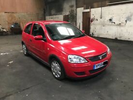 2005 Vauxhall Corsa C 1.2 3 Door Cheap Tax And Insurance