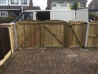 Garden gates wooden gate timber gates